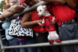 APTOPIX Venezuela Chavez Anniversary