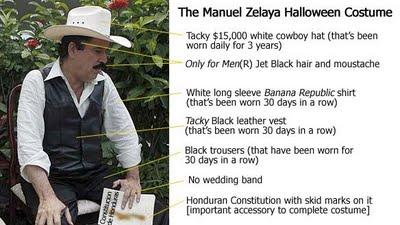 Zelaya costume